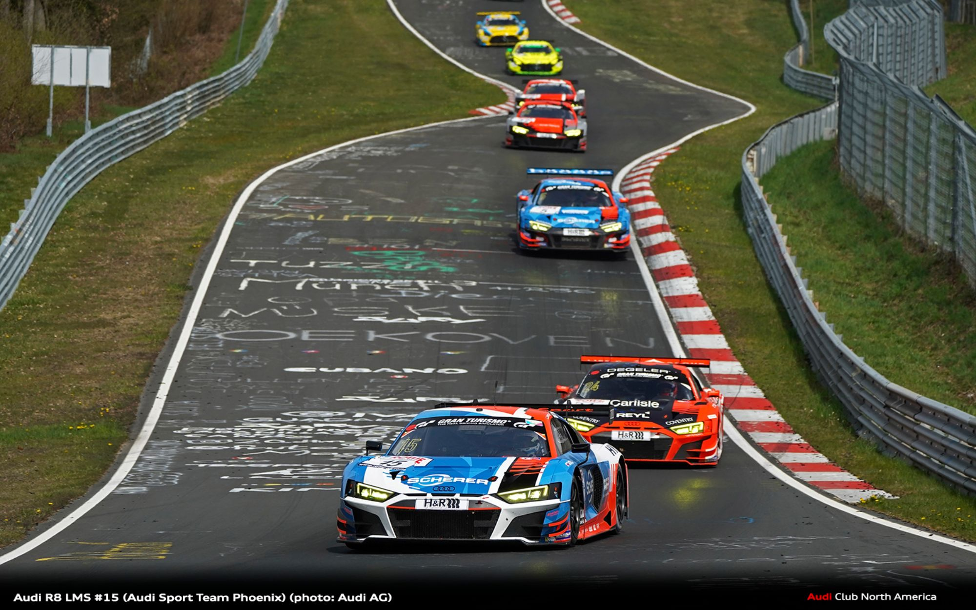 Promising Line-up from Audi at the Nürburgring