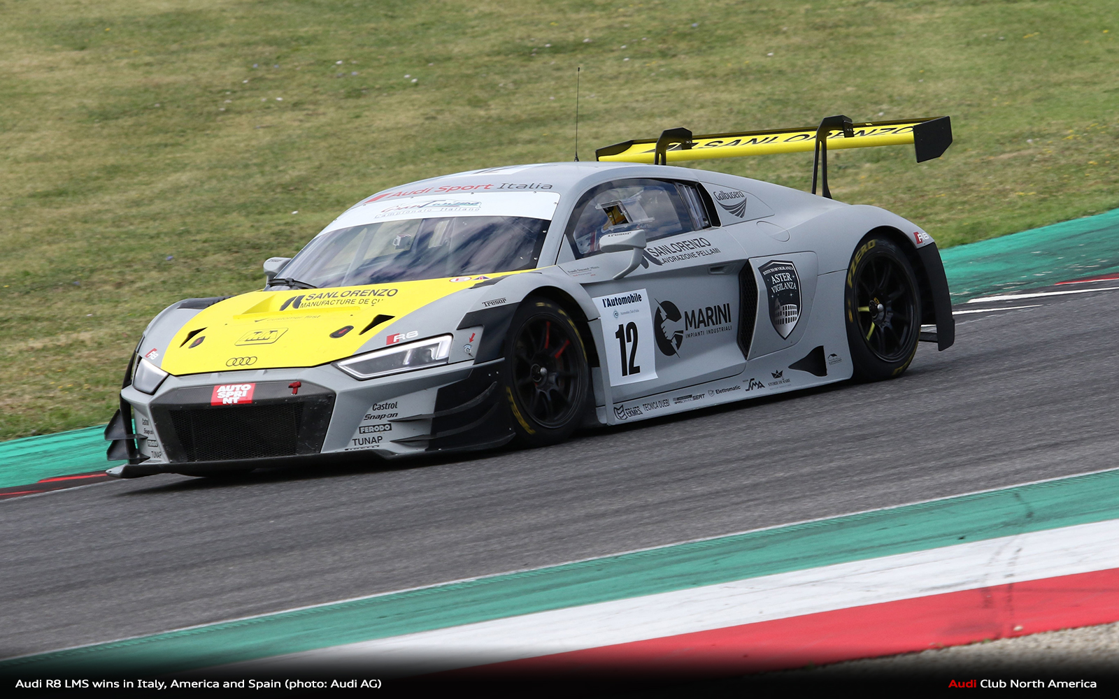 Audi R8 LMS Wins in Italy, America and Spain