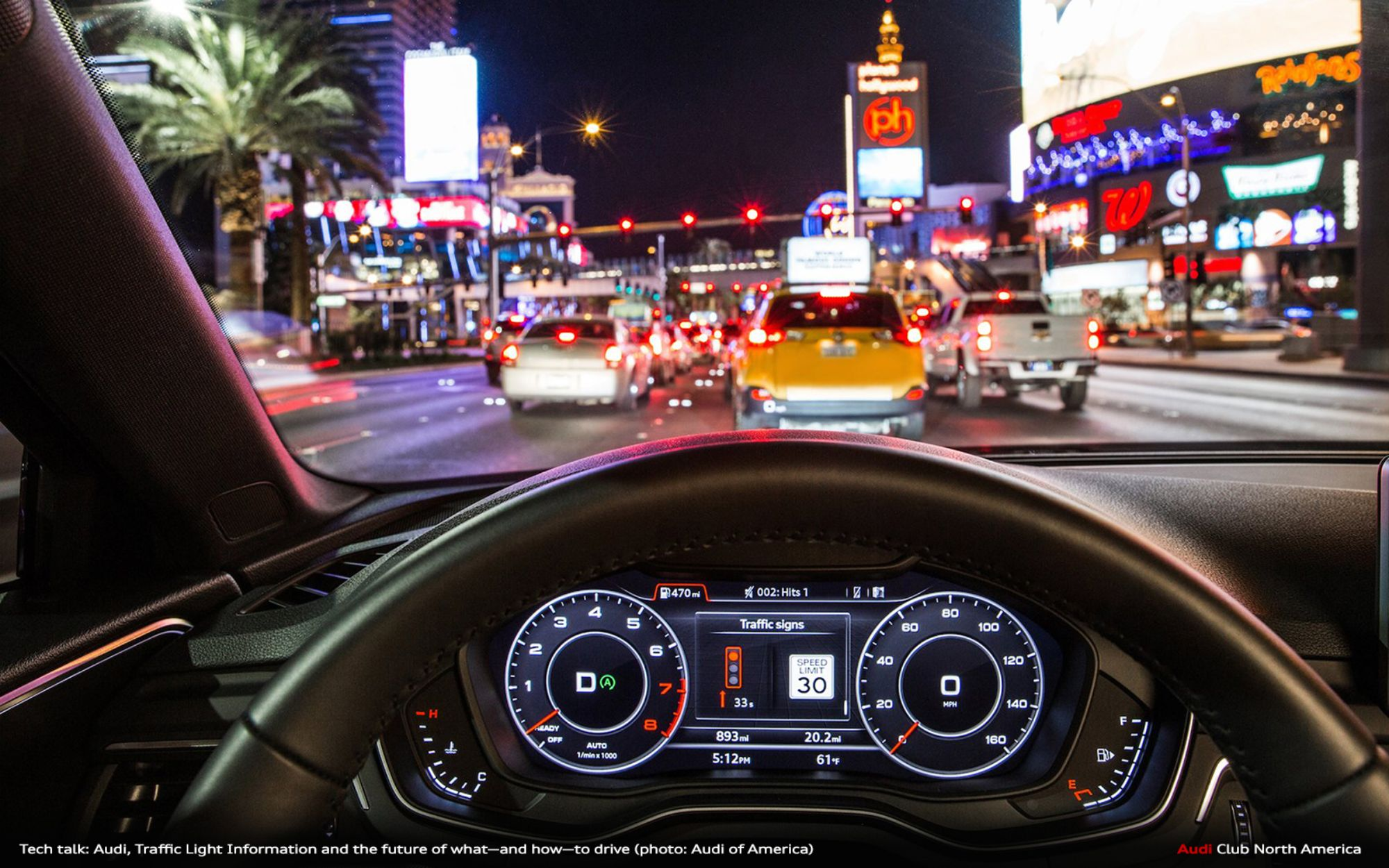 Tech Talk: Audi, Traffic Light Information and the Future of What—and How—to Drive
