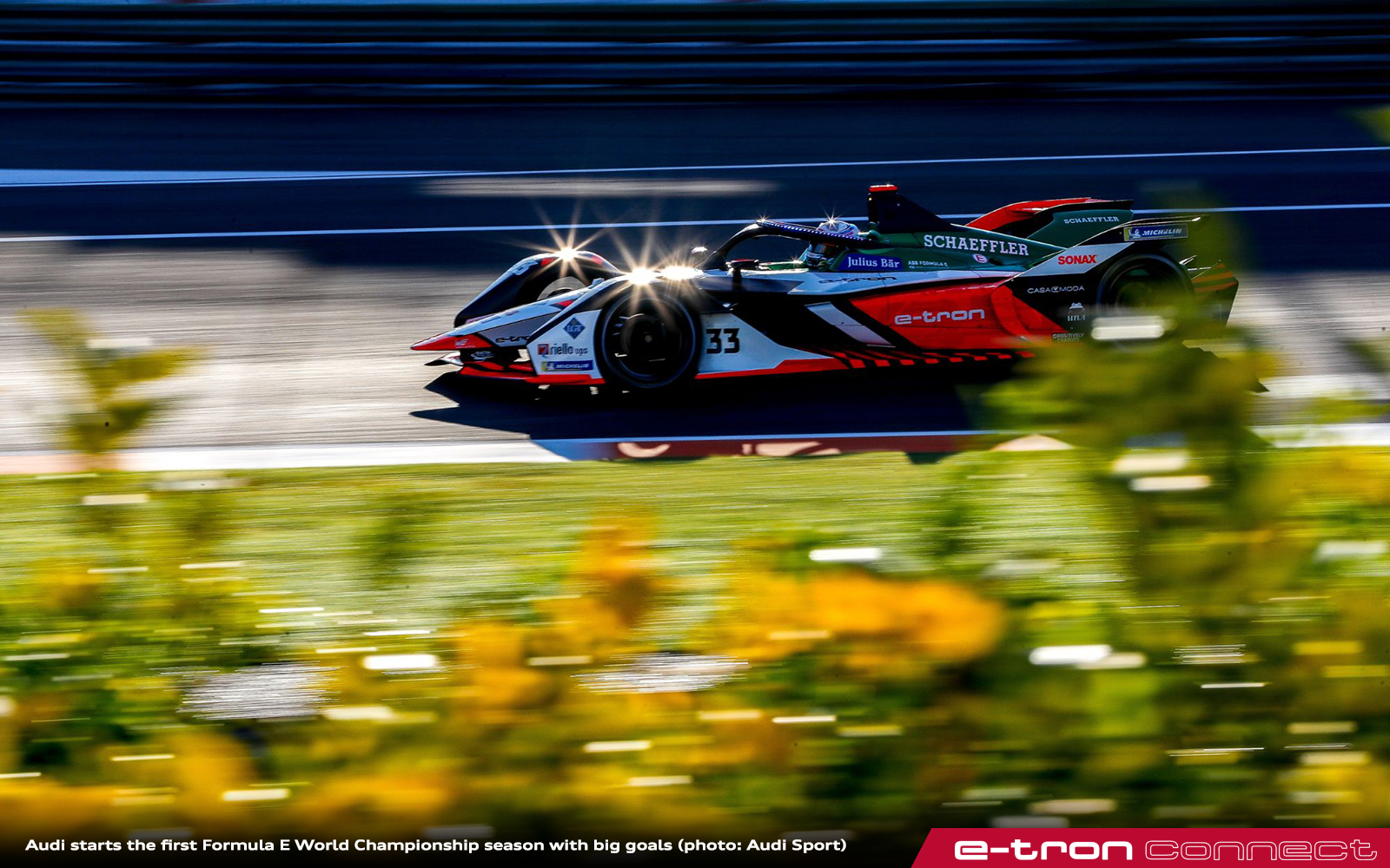 Audi Starts The First Formula E World Championship Season With Big Goals