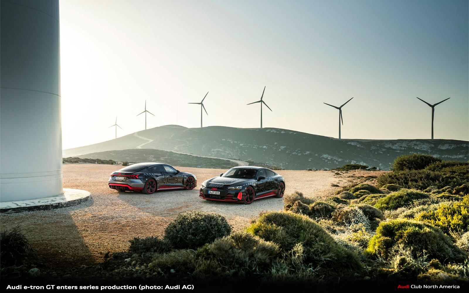 Audi e-tron GT Enters Series Production: Carbon-Neutral Production Begins at the Böllinger Höfe