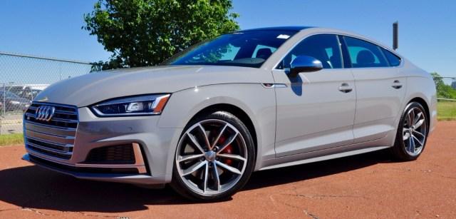 Audi exclusive S5 Sportback in Nardo Grey