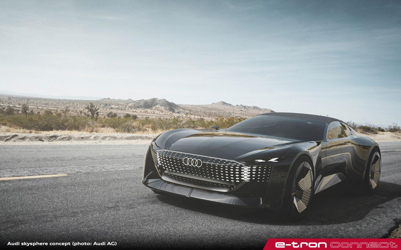 Audi skysphere concept – The Future Is Wide Open