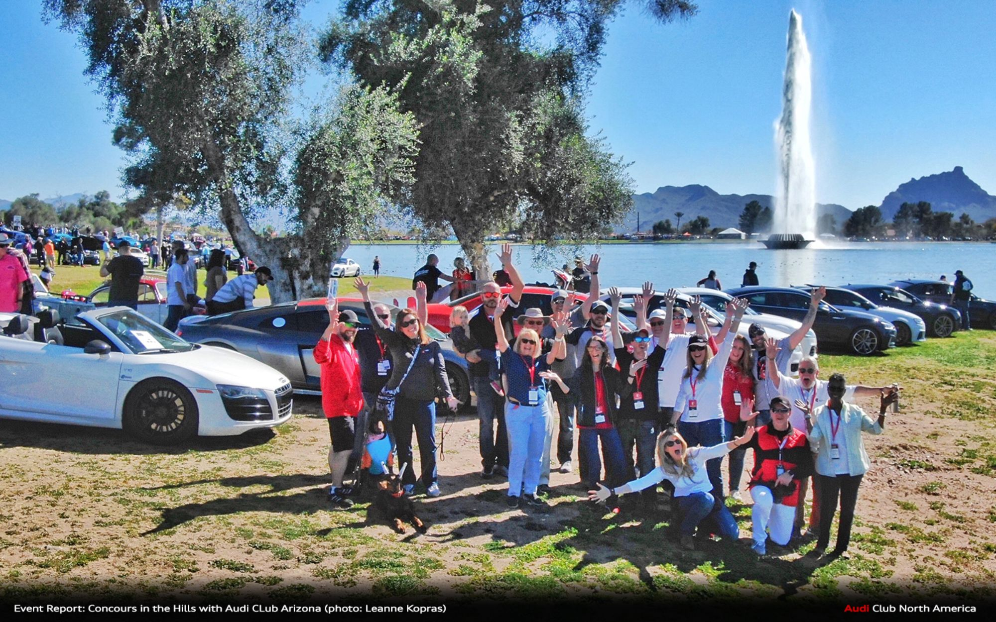 quattro Magazine Q2_2020 Event Report: Concours in the Hills with Audi Club Arizona
