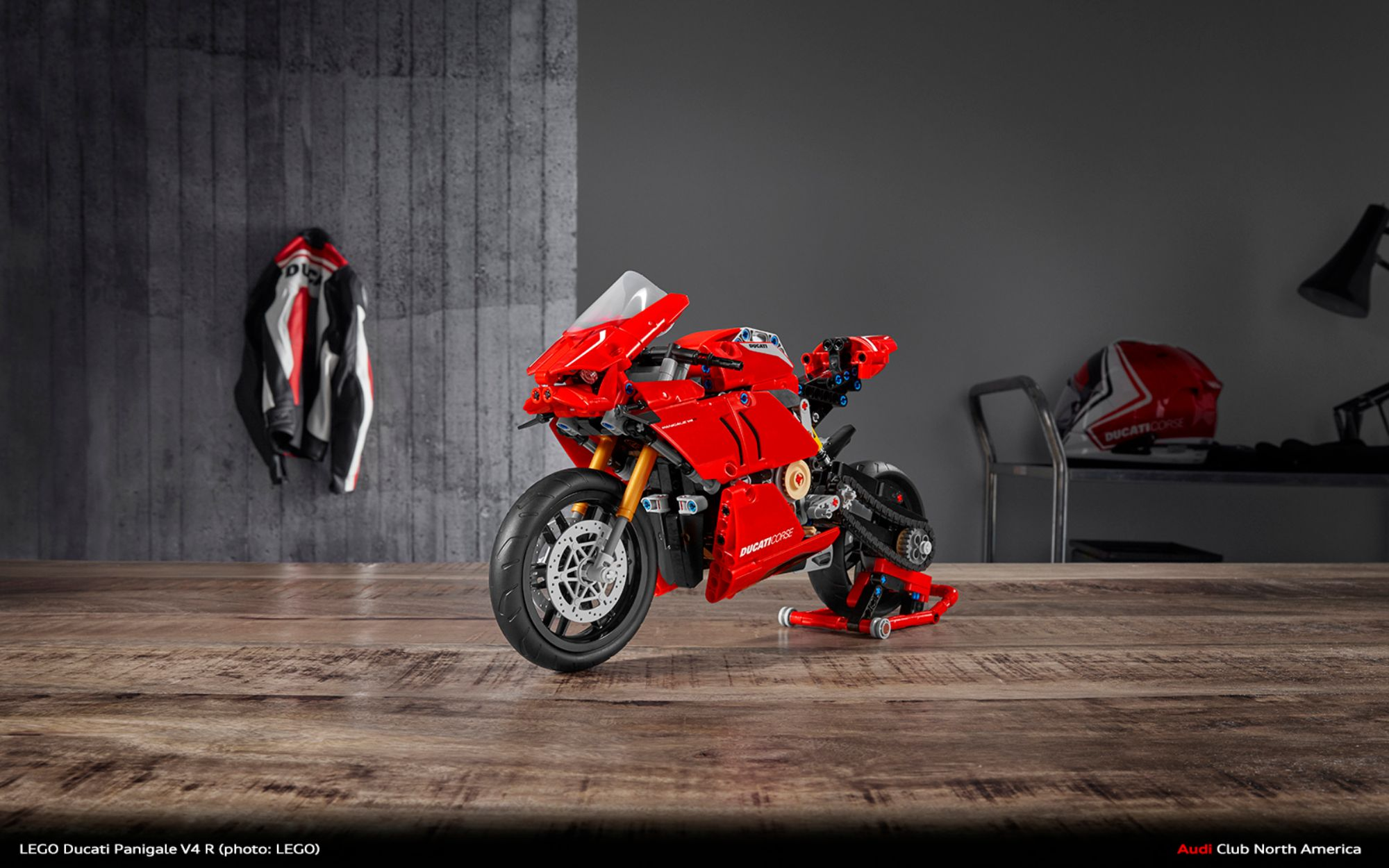 Build Your Own Ducati Panigale V4 R From LEGO