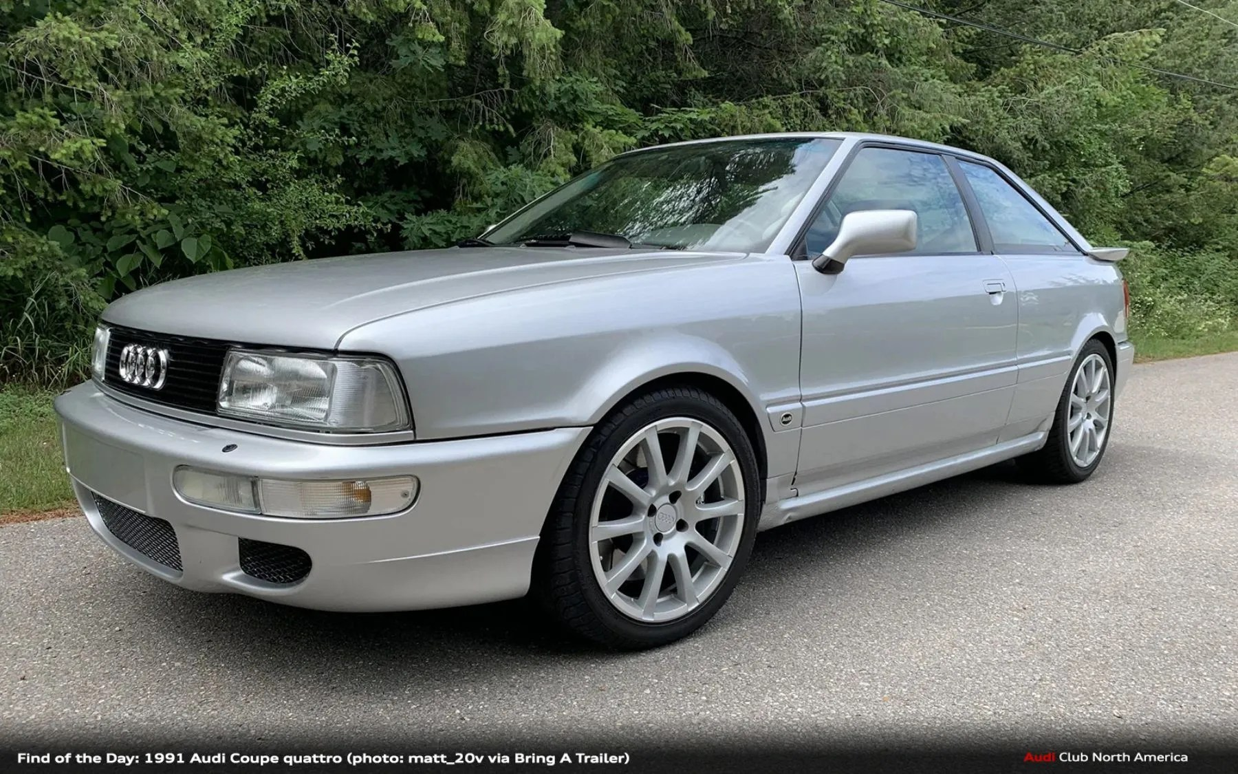 Find of the Day: 1991 Audi Coupe quattro