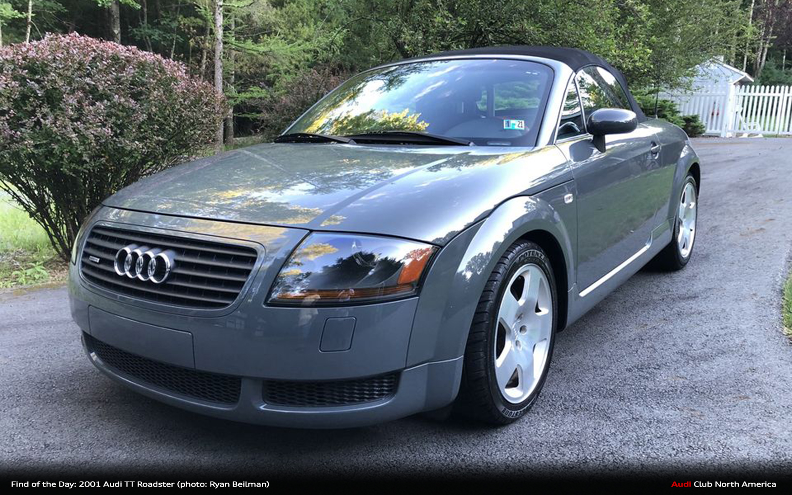 Find of the Day: 2001 Audi TT Roadster