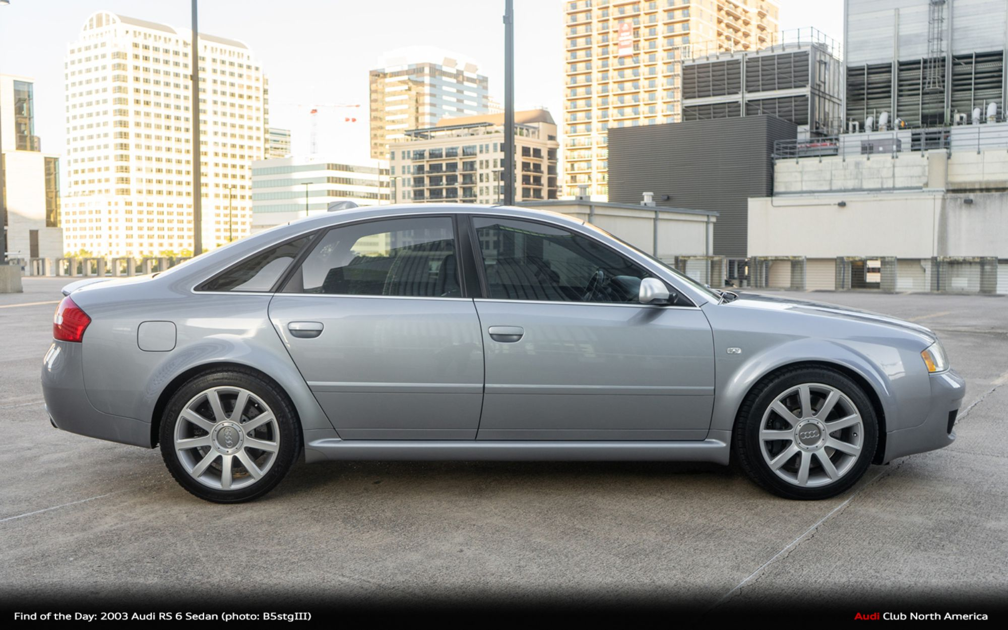 Find of the Day: 2003 Audi RS 6 Sedan