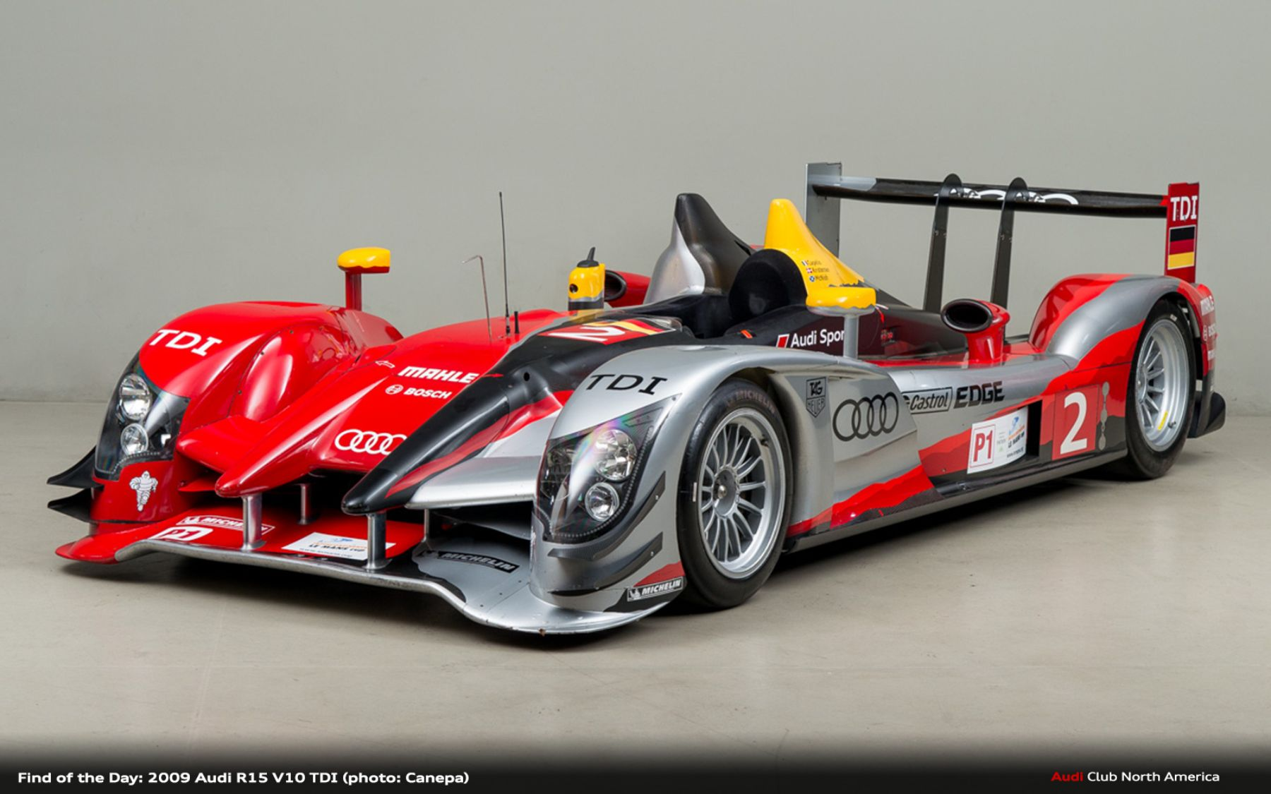 Find of the Day: 2009 Audi R15 V10 TDI Chassis T 101