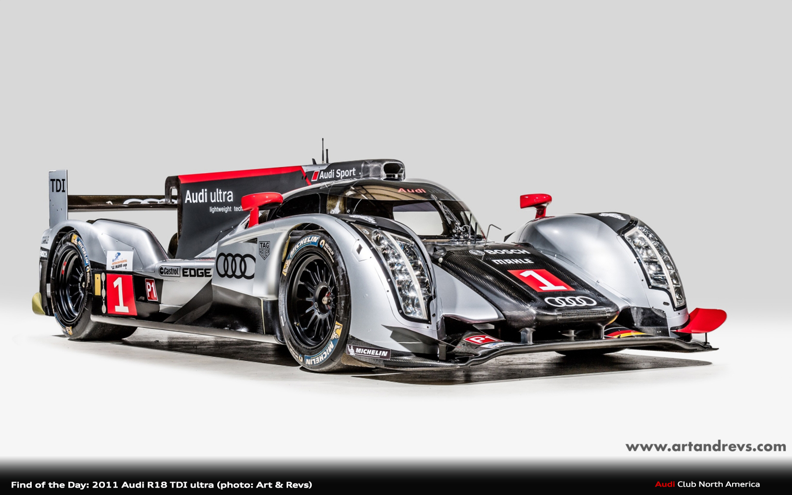 Find of the Day: 2011 Audi R18 TDI ultra