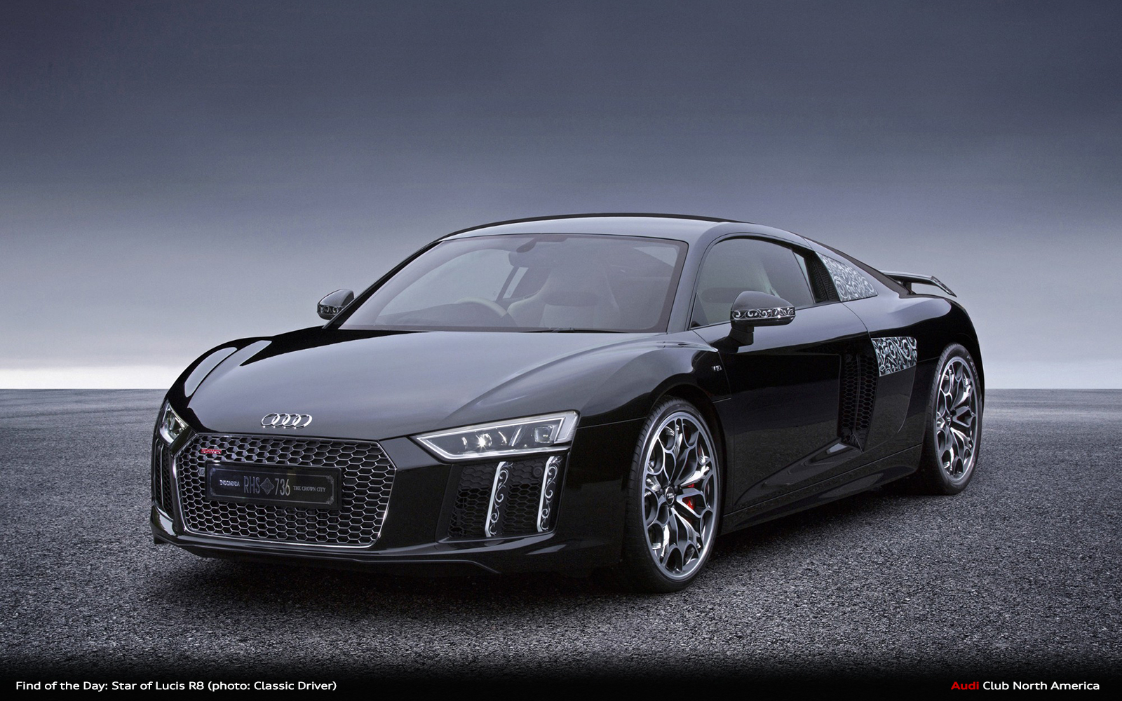 Find Of The Day One Of A Kind Star Of Lucis R8 V10 Plus Audi Club North America