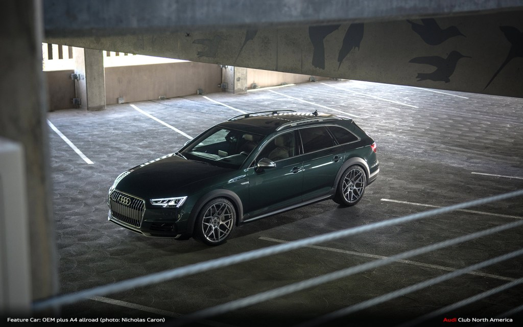 Defining OEM plus with this Incredible Audi A4 allroad