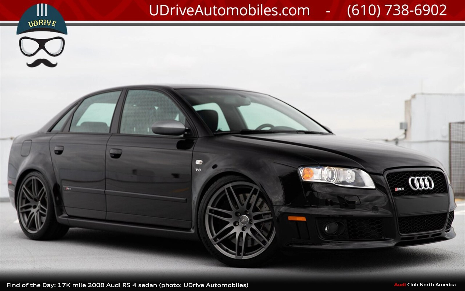 Find of the Day: 17k-Mile 2008 Audi RS 4 Sedan