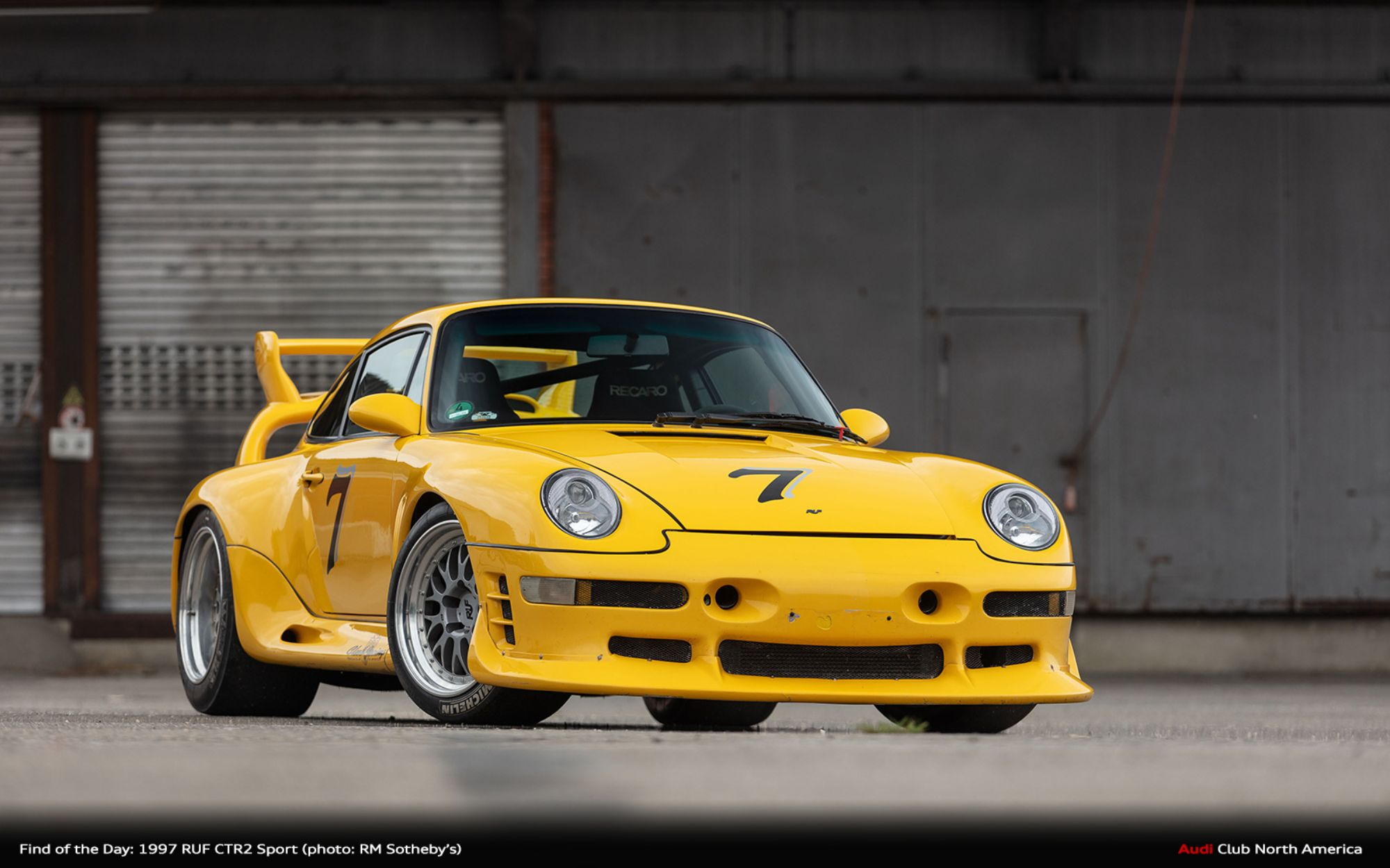 Find of the Day: 1997 RUF CTR 2 Sport...Wait What?
