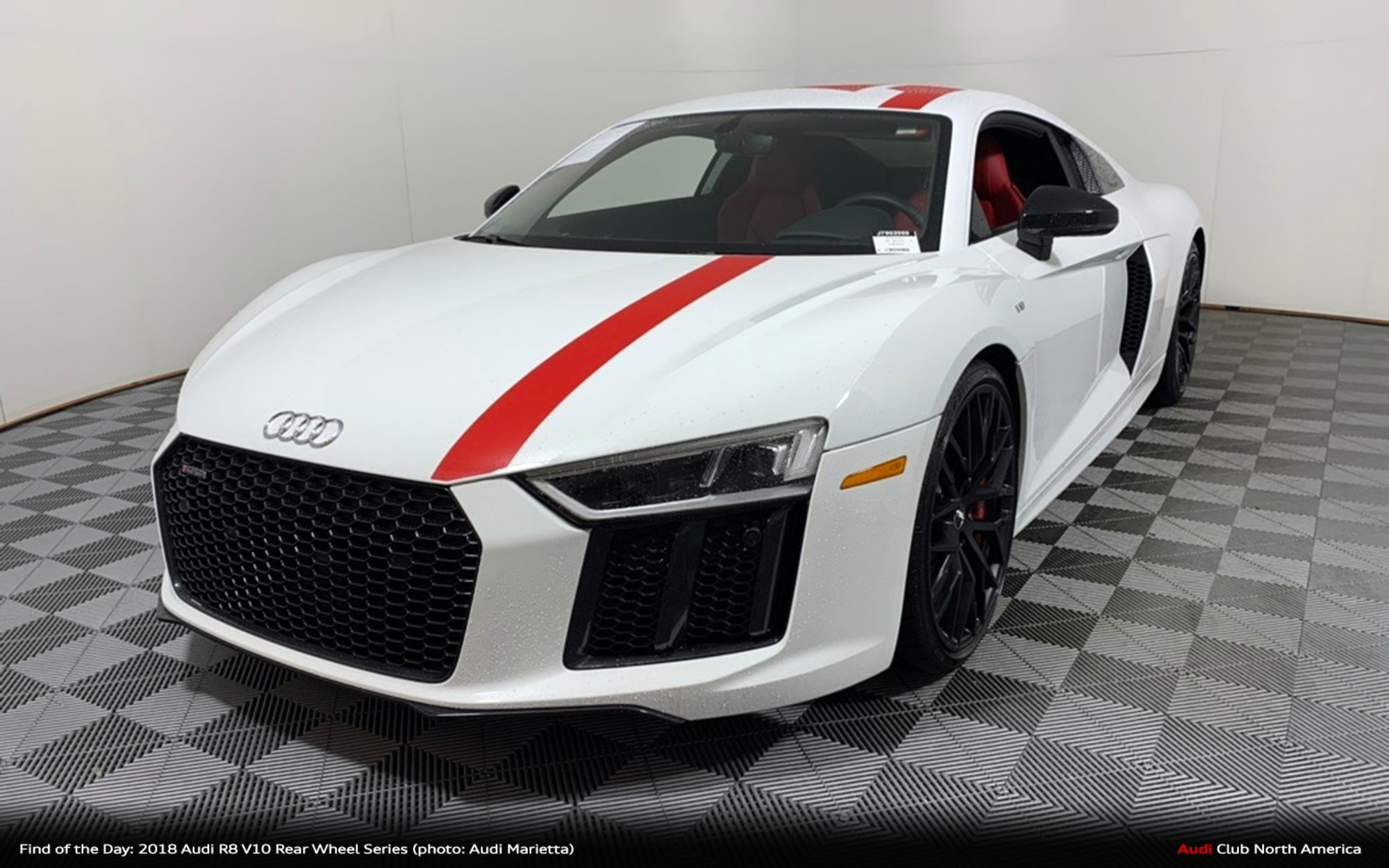 Find of the Day: 2018 Audi R8 V10 Rear Wheel Series