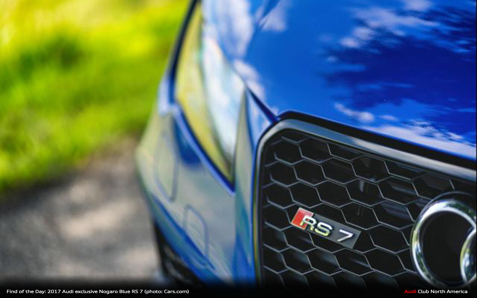 Find of the Day: 2014 Audi exclusive Nogaro Blue RS 7