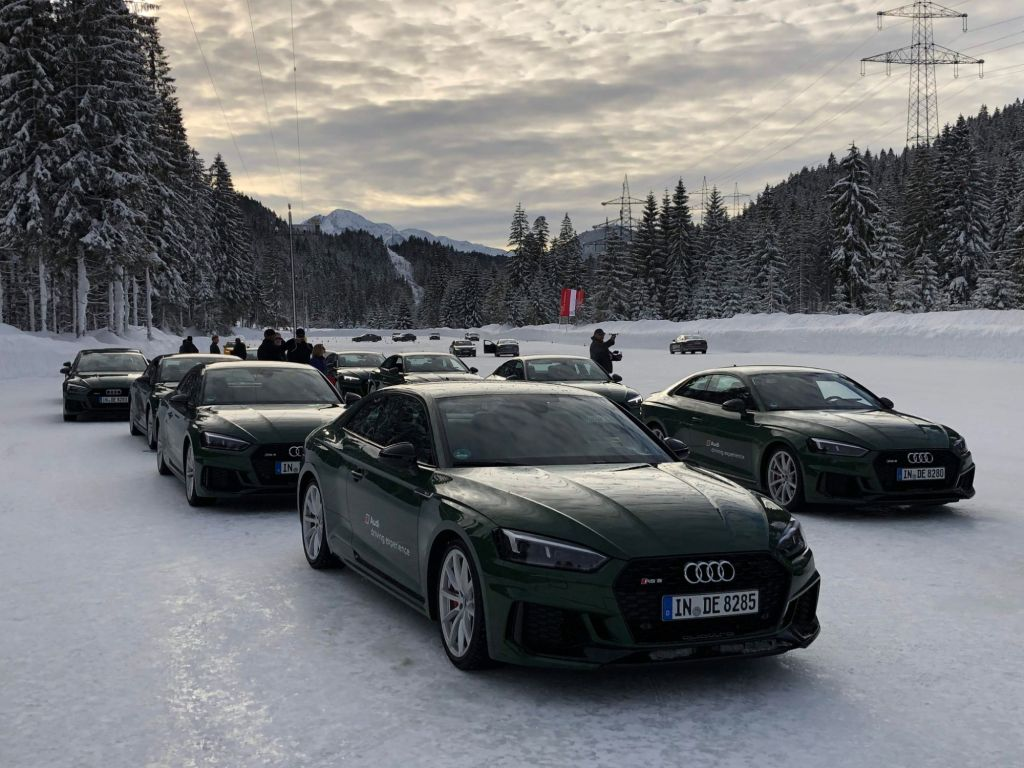Spectacular Winter Driving School in the Austrian Alps- Seefeld, Austria January 12-16, 2020
