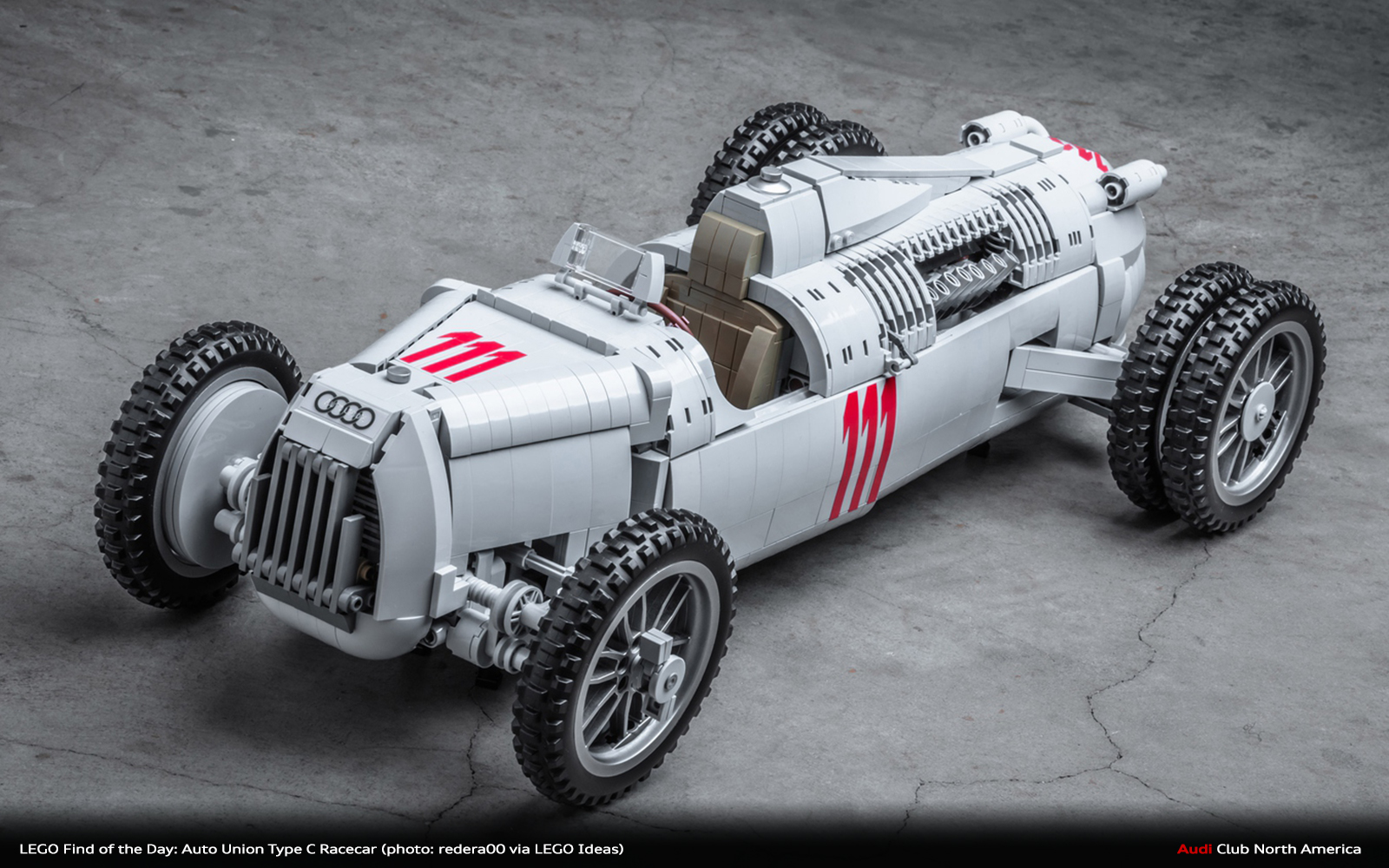 LEGO Find of the Day: Auto Union Type C Racecar