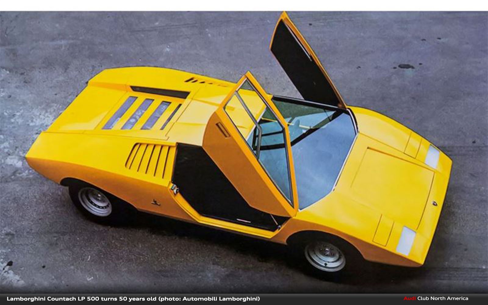 Lamborghini Countach LP 500 turned 50 years old on March 11, 2021