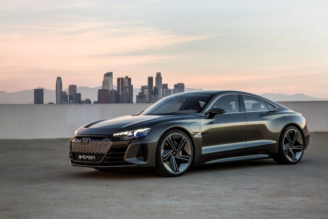 New Leading Role For Electric Performance: The Audi e-tron GT Concept Debuts In LA