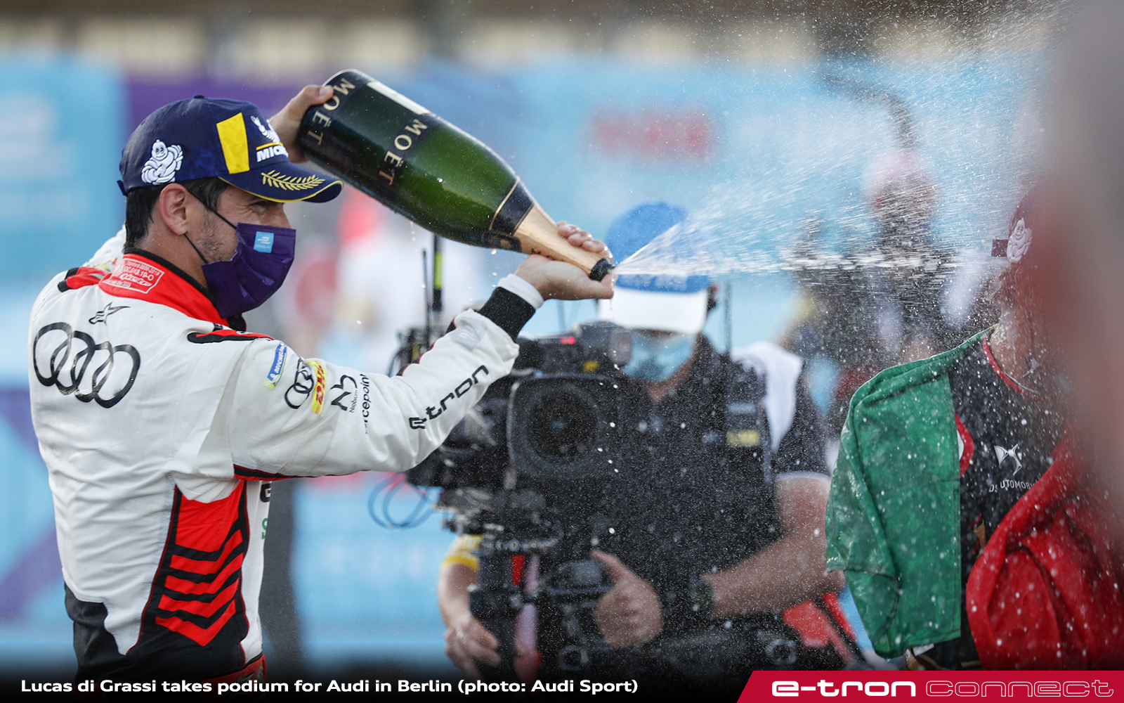 Lucas di Grassi Takes Podium for Audi in Berlin