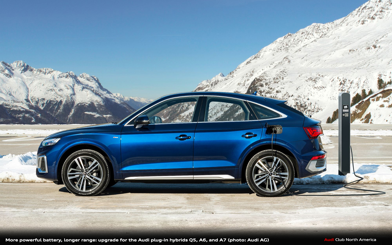 More Powerful Battery, Longer Range: Upgrade for the Audi Plug-In Hybrids Q5, A6, and A7