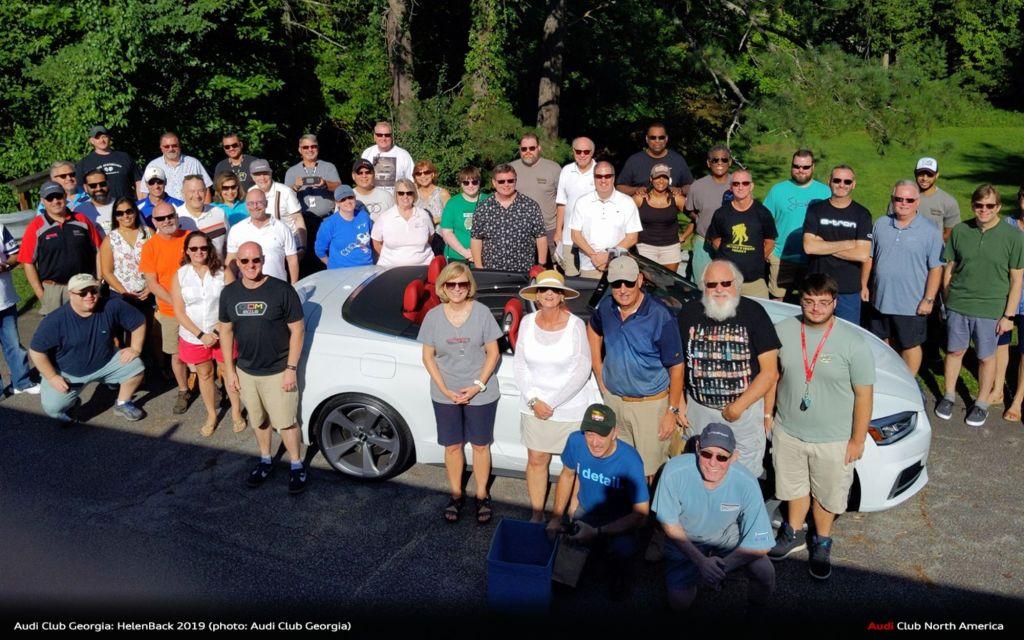 Audi Club Georgia: HelenBack 2019