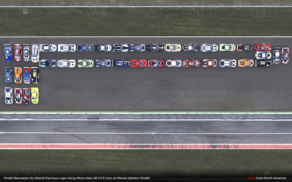 Pirelli Parks 40+ GT3 Cars at Monza Just for Fun