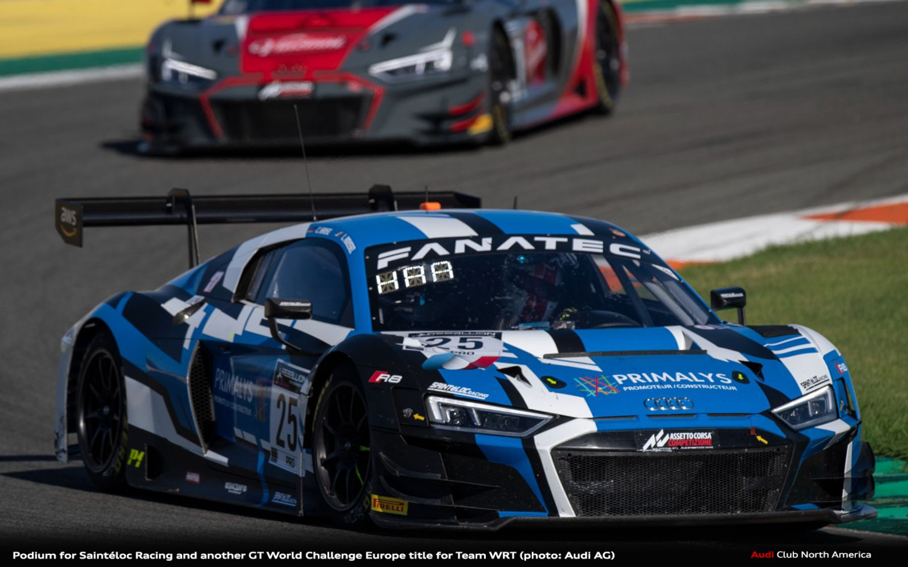 Podium for Saintéloc Racing and Another GT World Challenge Europe Title for Team WRT