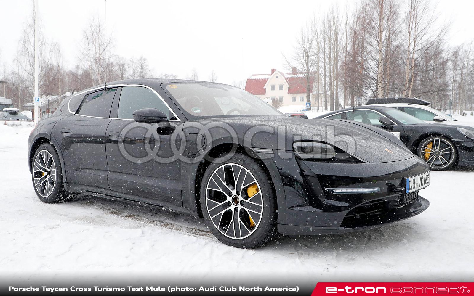 Could Porsche Taycan Cross Turismo Mean Chances of e-tron GT allroad?