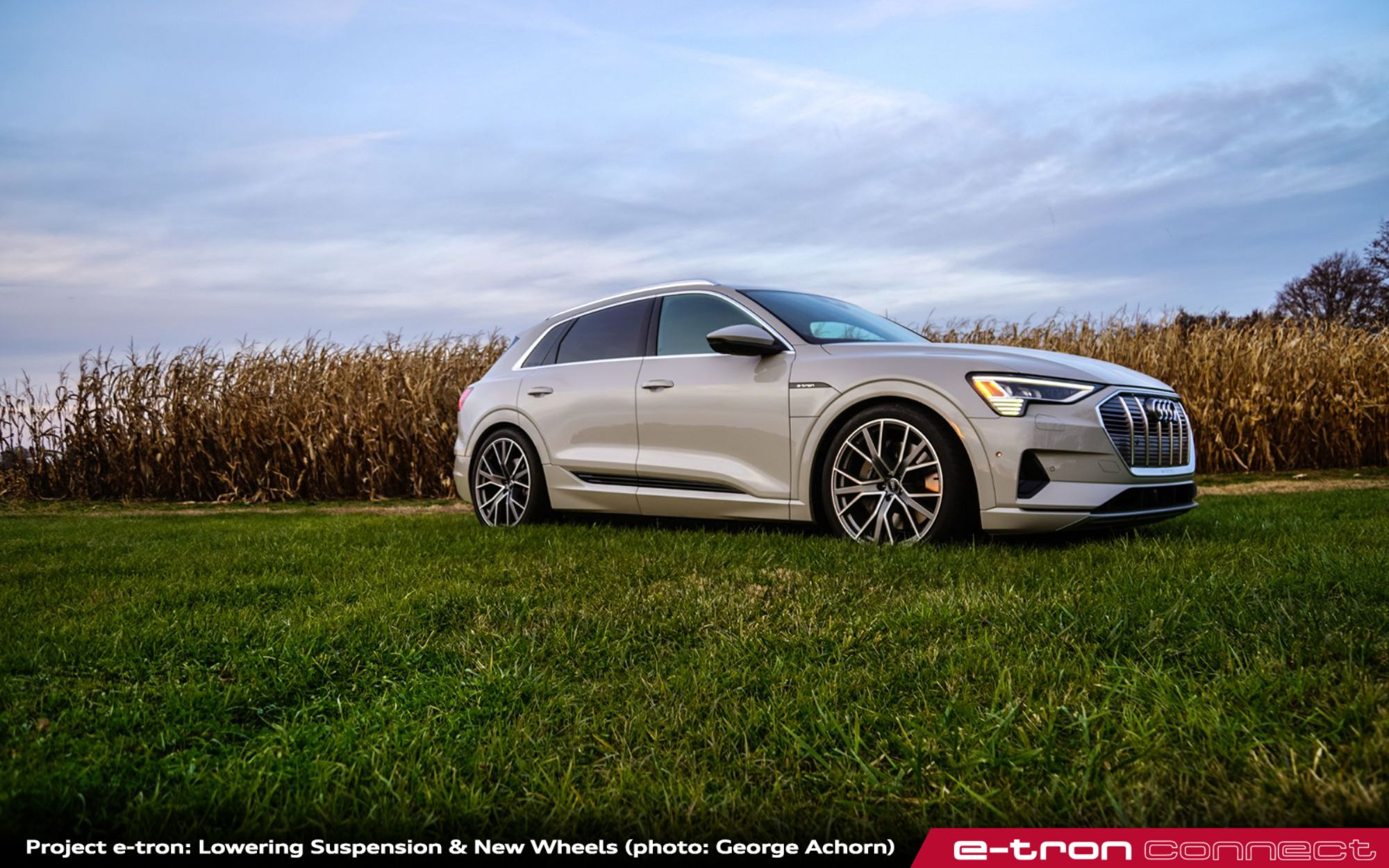 e-tron connect: quattro Magazine Q2_2020: Project e-tron – Lowering Suspension & New Wheels