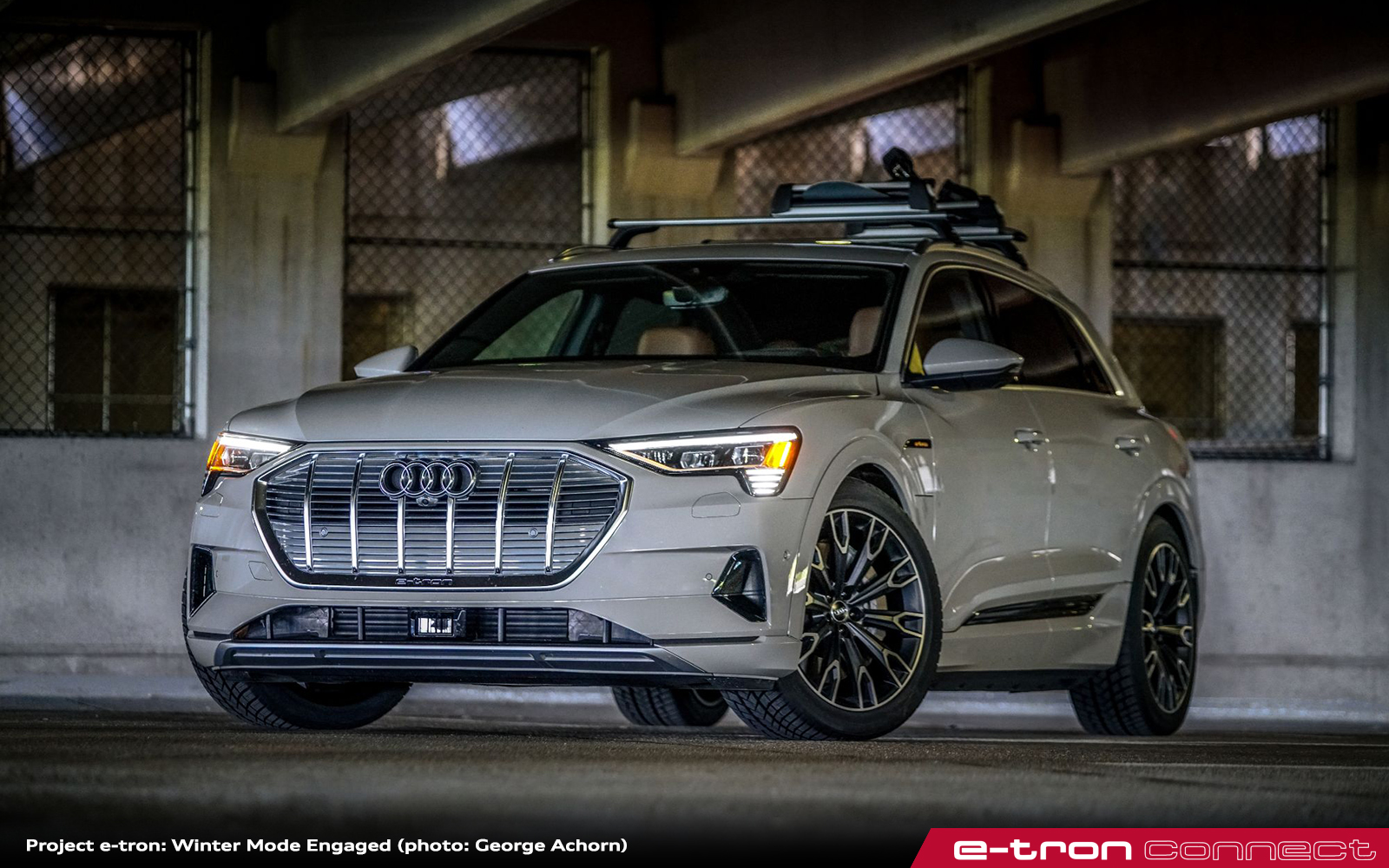 Project e-tron: Winter Mode Engaged