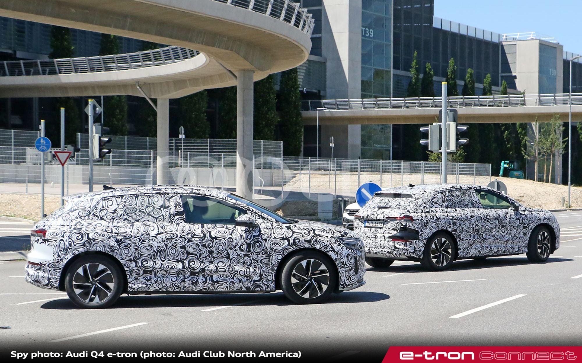 Audi Q4 e-tron Spied Again