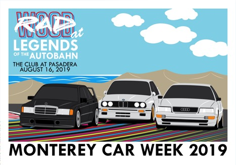 That's so RAD! Legends Of The Autobahn And RADwood Join Forces For Monterey Car Week