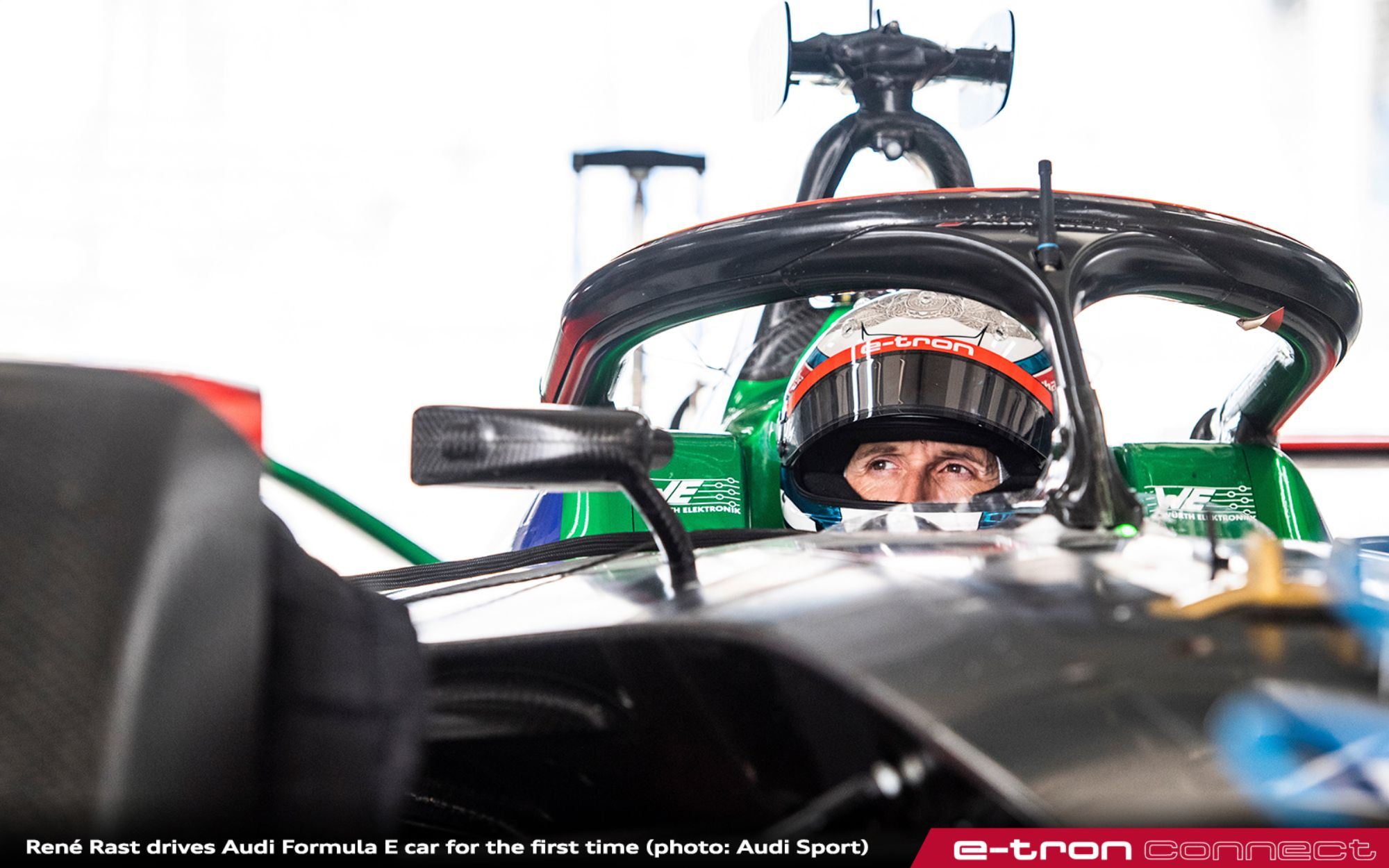 René Rast Drives Audi Formula E Car For The First Time