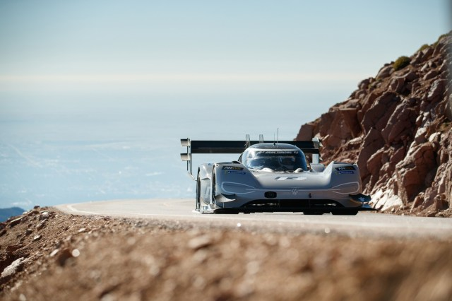Volkswagen Shares Footage From I.D. R Pikes Peak Record-Breaking Run