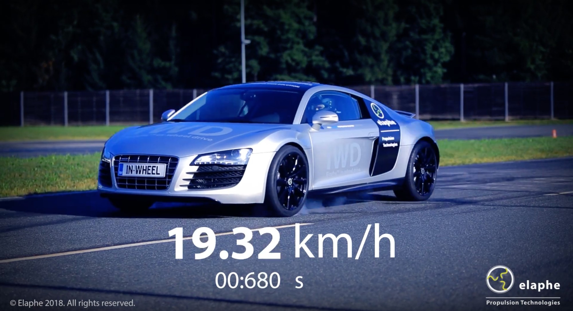 Elaphe Propulsion's R8 Is Not Mid-Engined - In Fact It Has No Engine