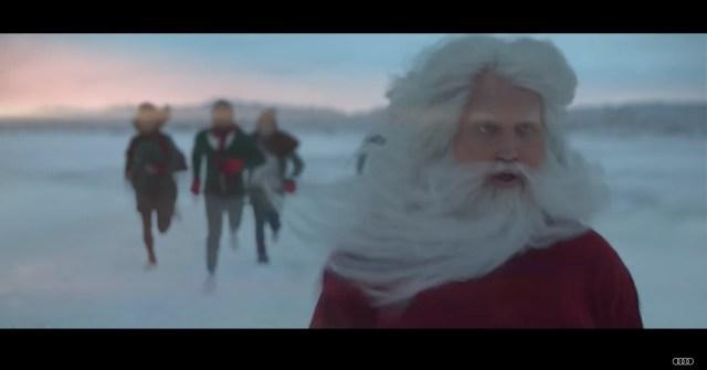 Картинки по запросу Audi Presents: New Santa