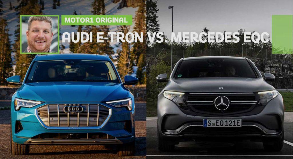 Motor1.com: Audi e-tron vs Mercedes-Benz EQC
