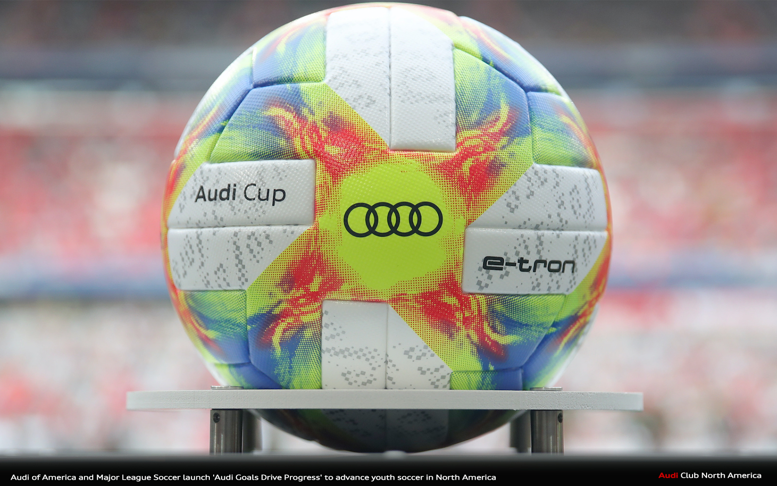 Audi of America and Major League Soccer Launch 'Audi Goals Drive Progress' To Advance Youth Soccer in North America