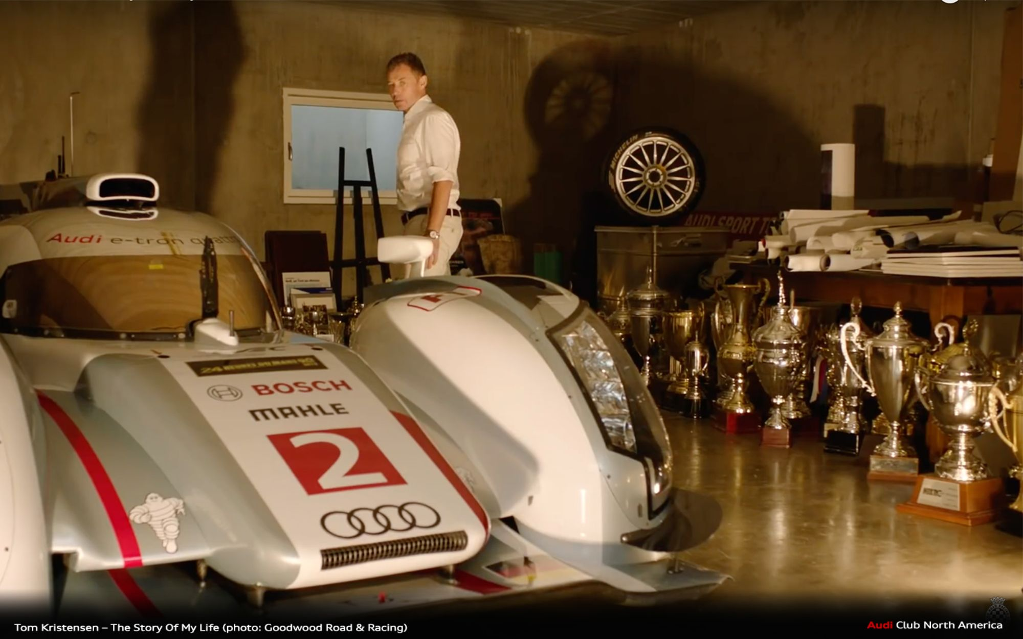 Tom Kristensen - The Story Of My Life (Video) And Special Guest Of Audi Club North America