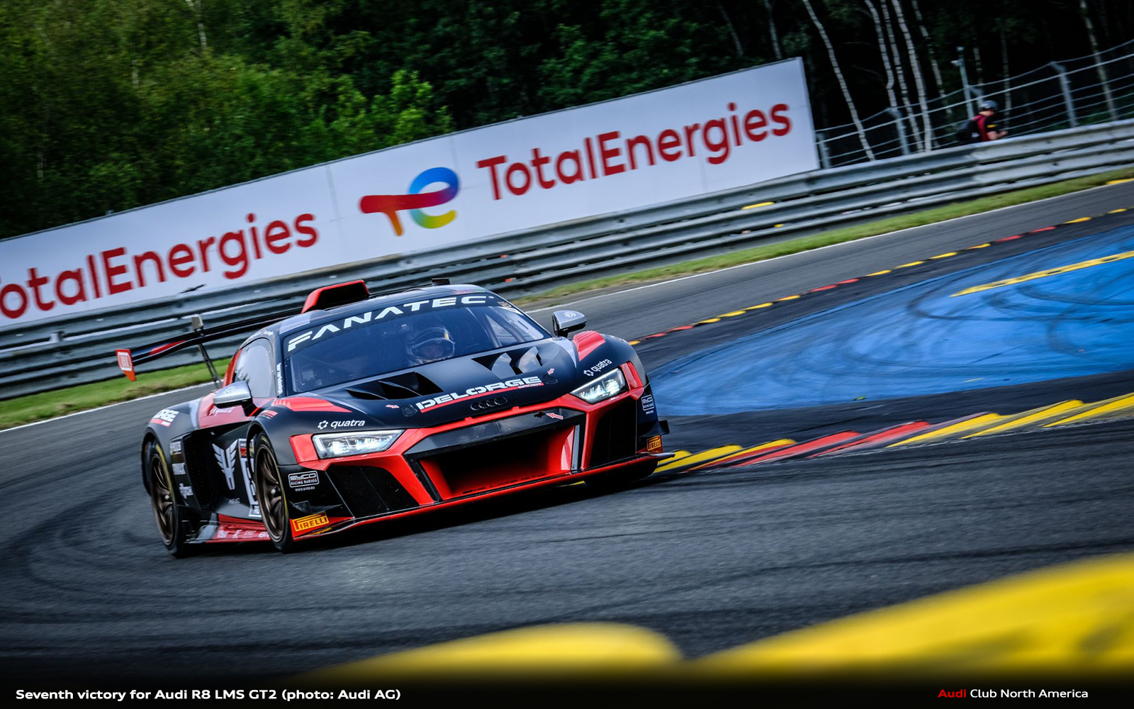 Seventh Victory for Audi R8 LMS GT2
