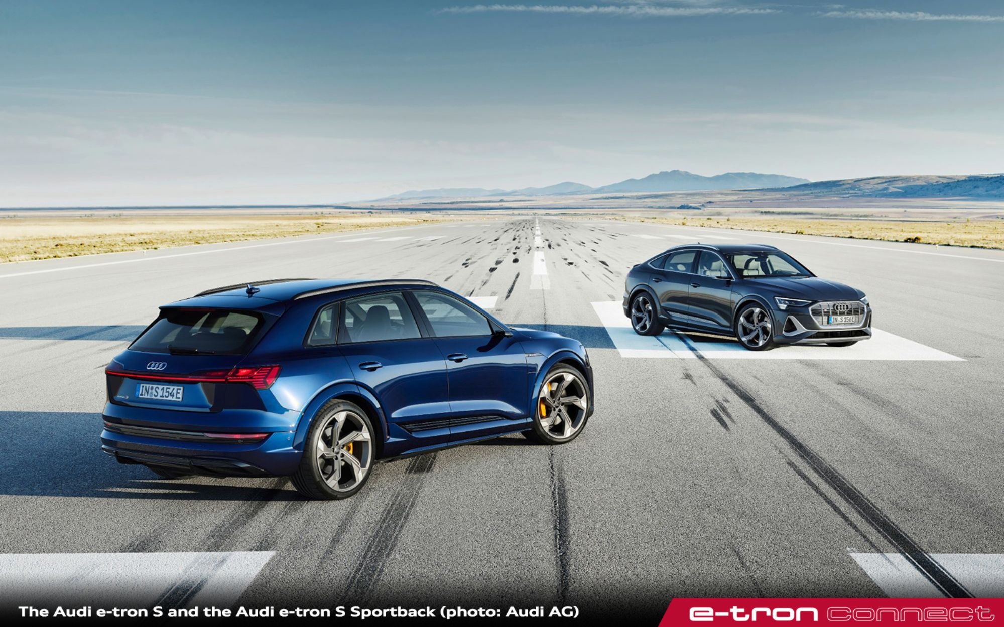 Innovative, Dynamic, and Electric: The Audi e-tron S and the Audi e-tron S Sportback