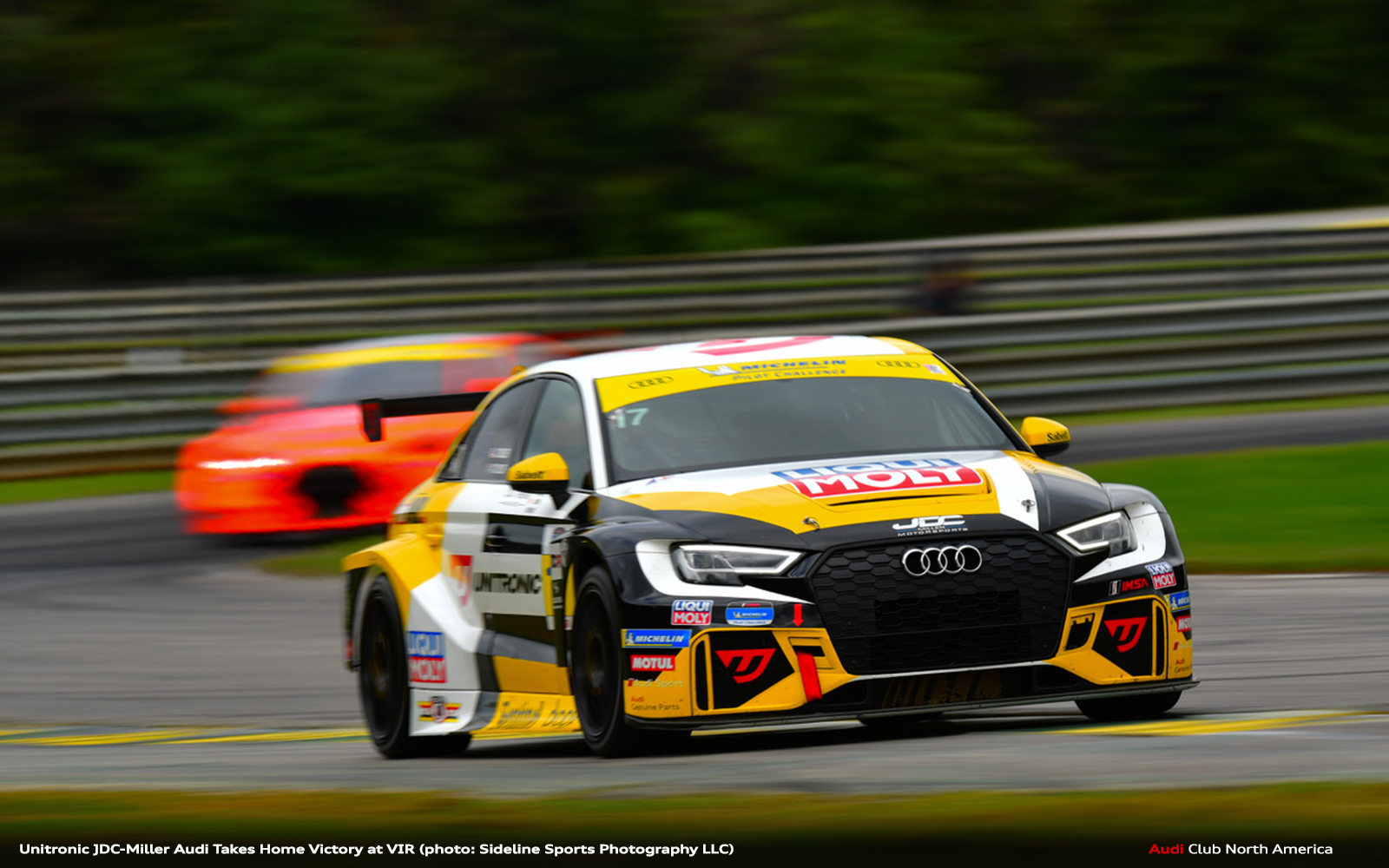 Unitronic JDC-Miller Audi Takes Home Victory at VIR