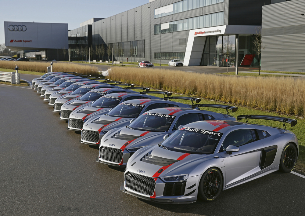 First Customers Take Over New Audi R8 LMS GT4
