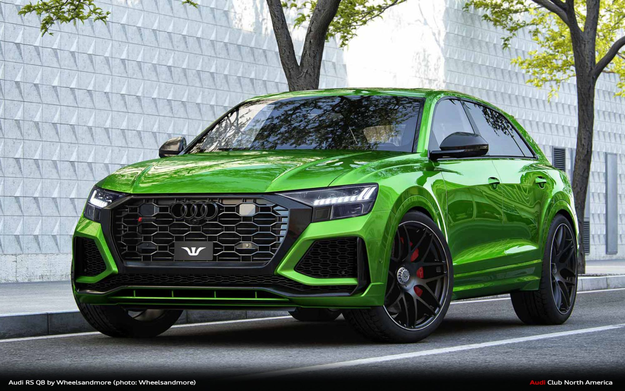 Wheelsandmore Turns Their Eye to the RS Q8