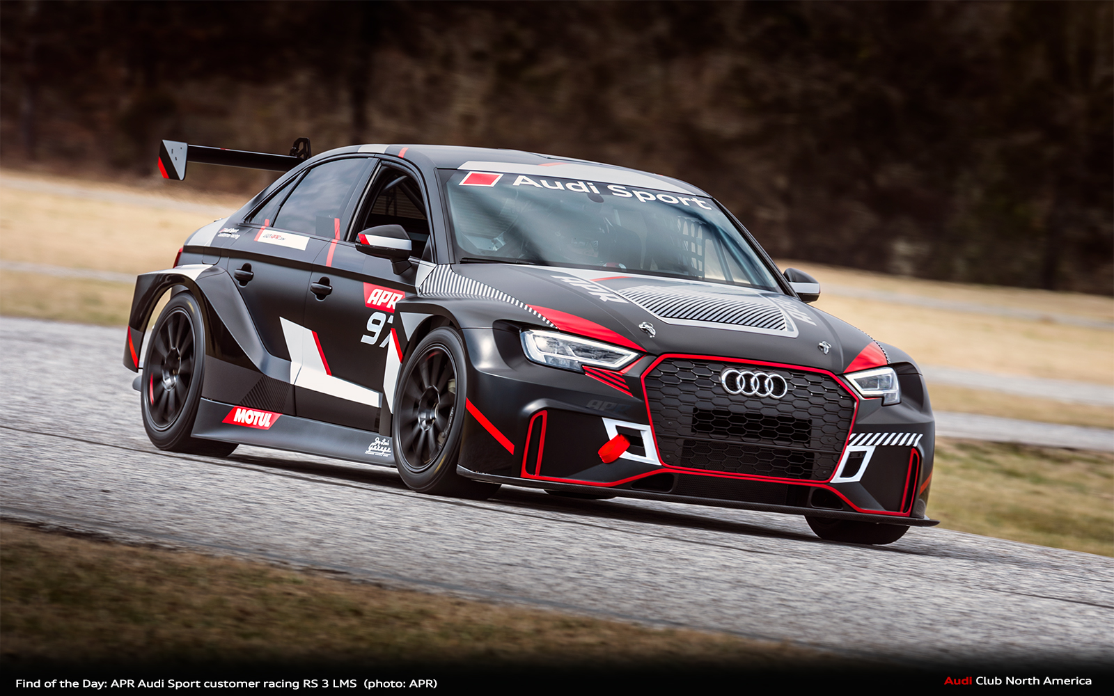 Find of the Day: APR Audi Sport customer racing RS 3 LMS
