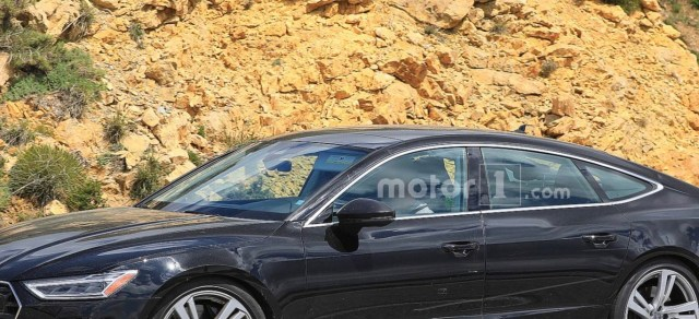 Motor1.com: Audi S7 Drops The Camo Completely In Latest Spy Photos