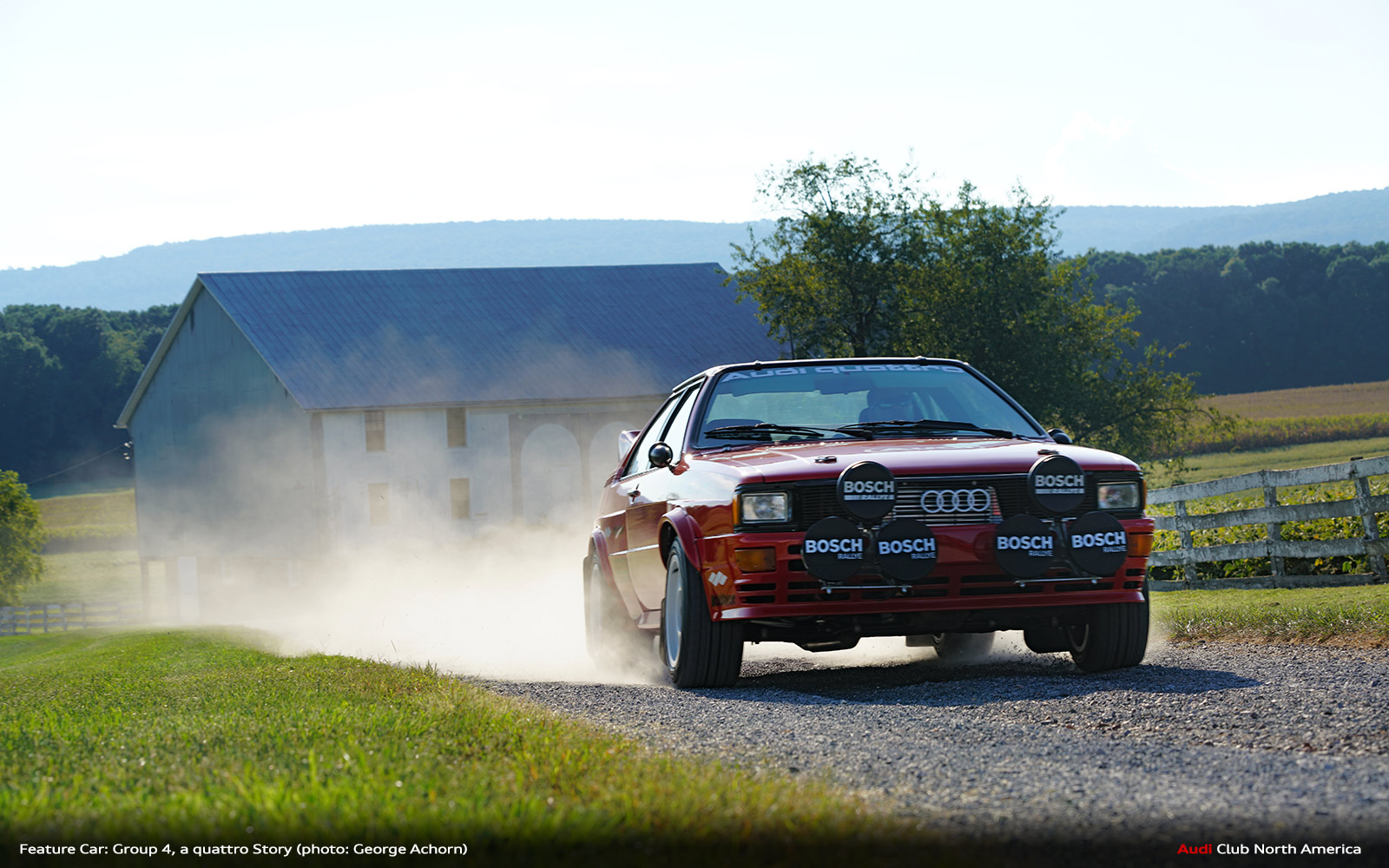 Feature Car: Group 4, a quattro Story