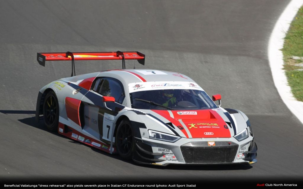 """Beneficial Vallelunga """"Dress Rehearsal"""" Also Yields Seventh Place In Italian GT Endurance"""